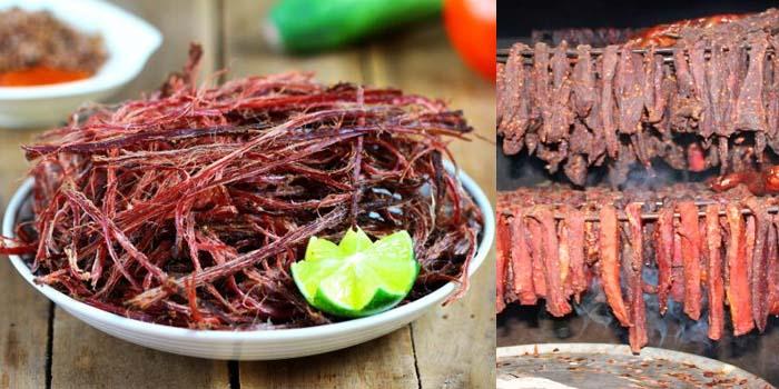 Thịt bò gác bếp có điểm gì hấp dẫn?