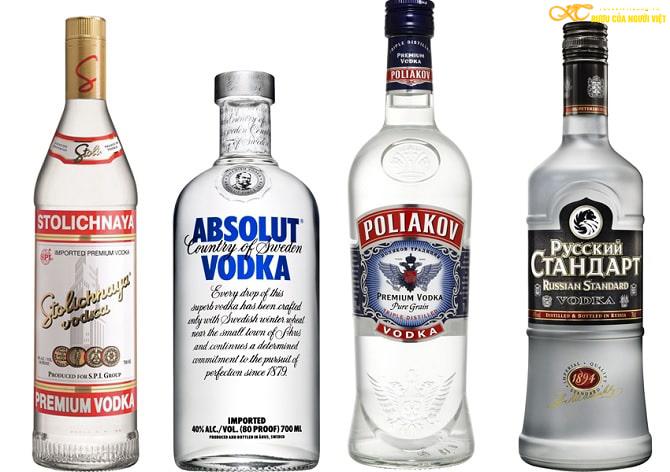 Sự khác biệt rượu nếp và rượu Vodka